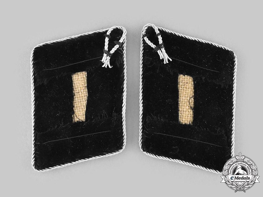 Germany, SS. A Set of SS-Obergruppenführer Collar Tabs, Robert Kondor Collection