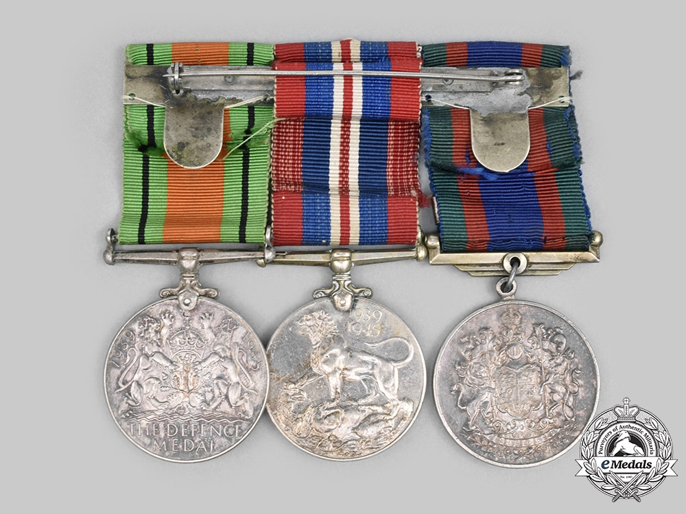 Canada, Commonwealth. A Second War Group of Three