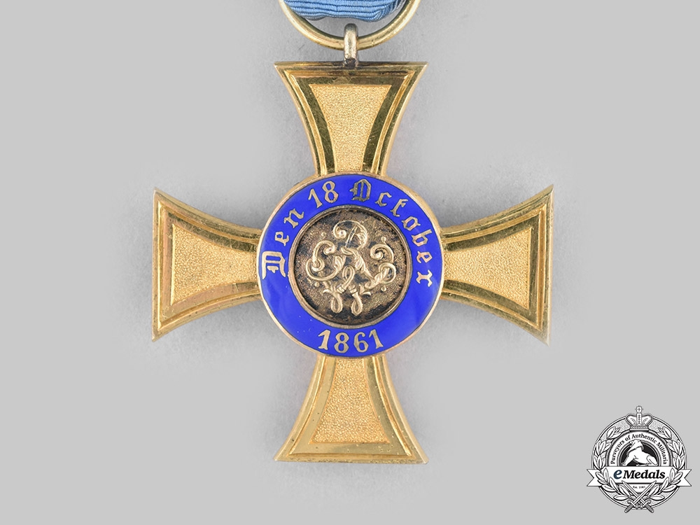 Prussia, Kingdom. An Order of the Crown, IV Class Cross, c.1910
