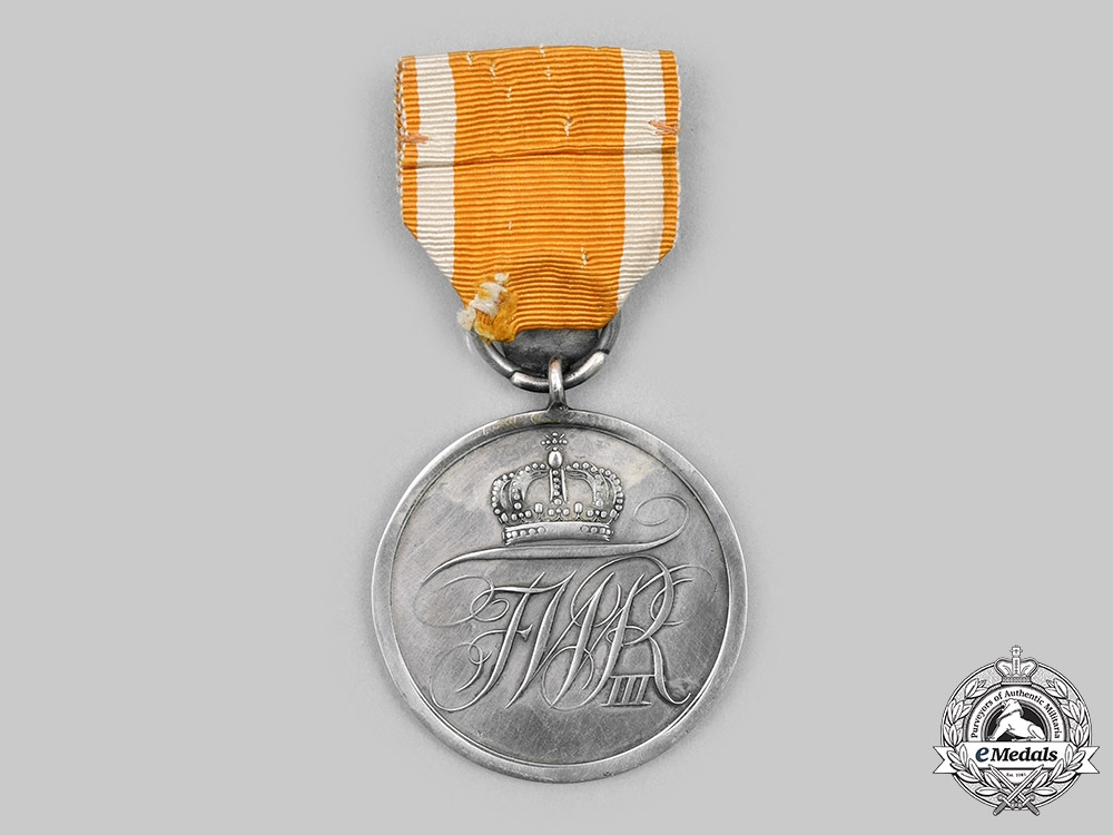 Prussia, Kingdom. A General Honour Decoration with 70-Year Clasp