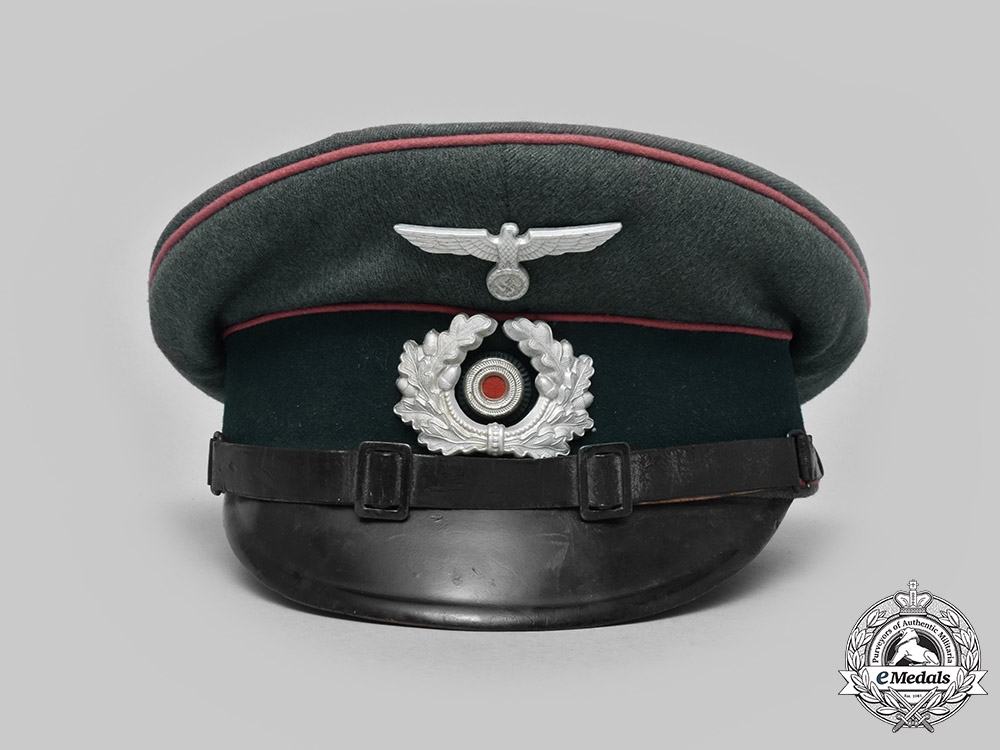 Germany, Heer. A Panzer NCO's Visor Cap, by Clemens Wagner