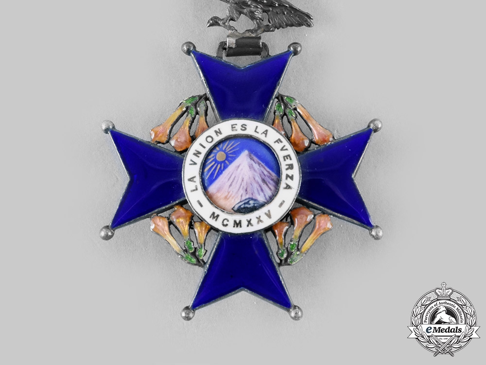 Bolivia, Republic. A National Order of the Andean Condor, Knight c.1960