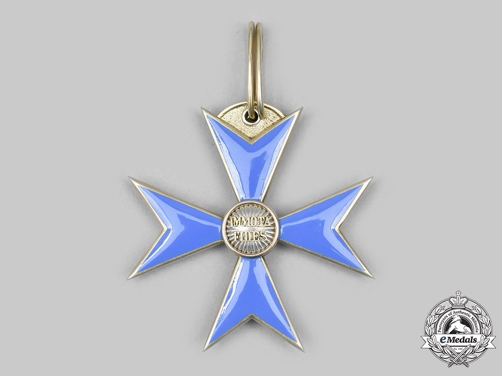 Brunswick, Duchy. A Dukely Order of Henry the Lion, I Class Cross, by Hermann Jürgens, c. 1890