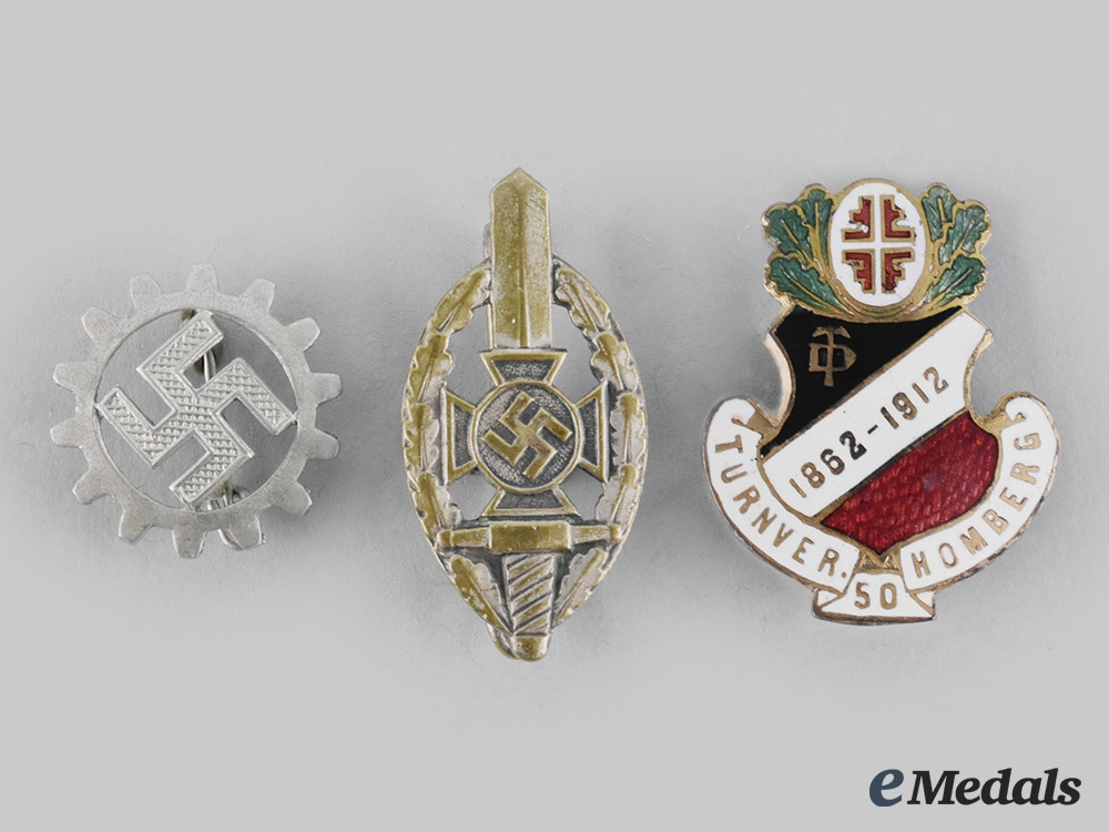 Germany, Third Reich. A Lot of Membership Badges