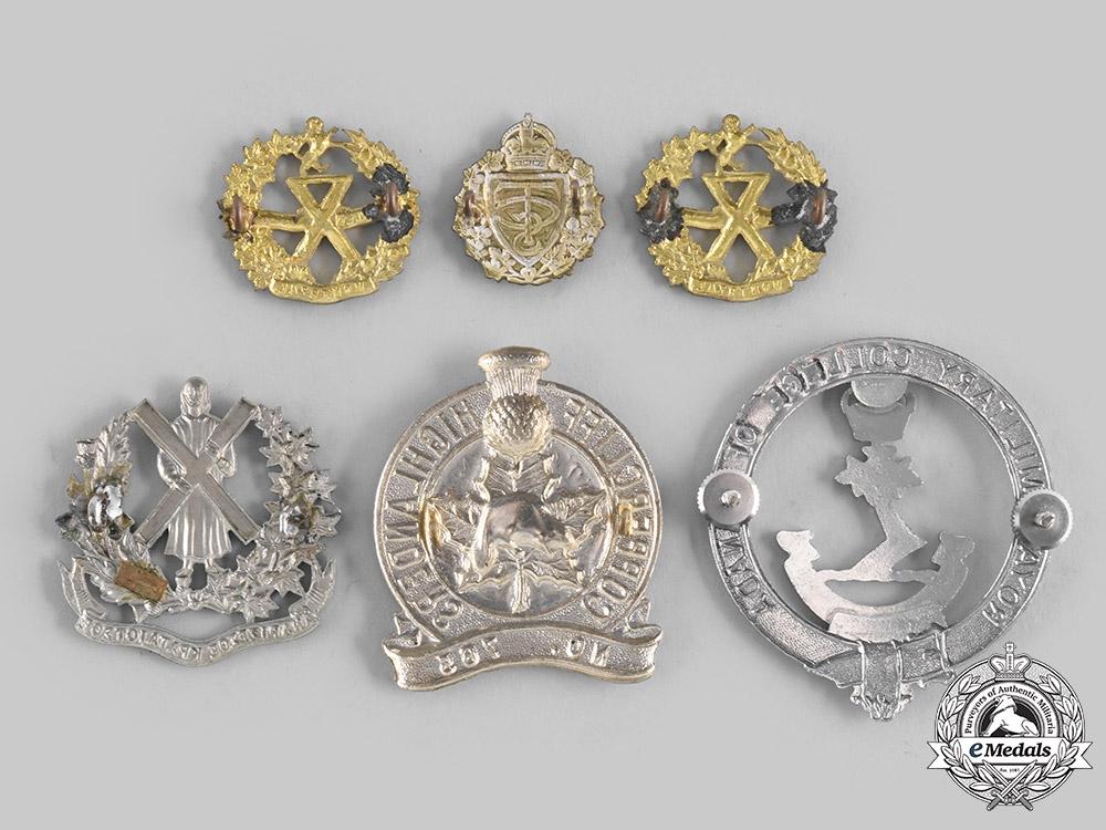 Canada. Six Cadet Badges