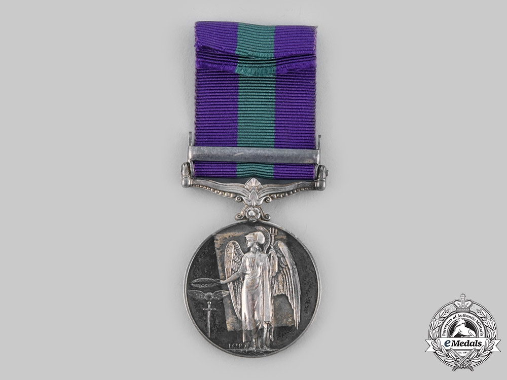 United Kingdom. General Service Medal 1918-1962, to a member of the Singapore Police