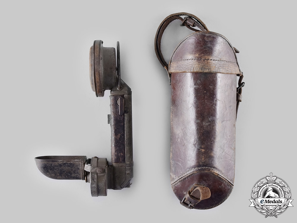 Germany, Imperial. A iTD2 Army Infantry FIeld Telephone by Siemens & Halske, with Case, c.1913