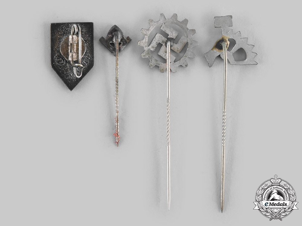 Germany, Third Reich. A Lot of Membership Badges and Stick Pins