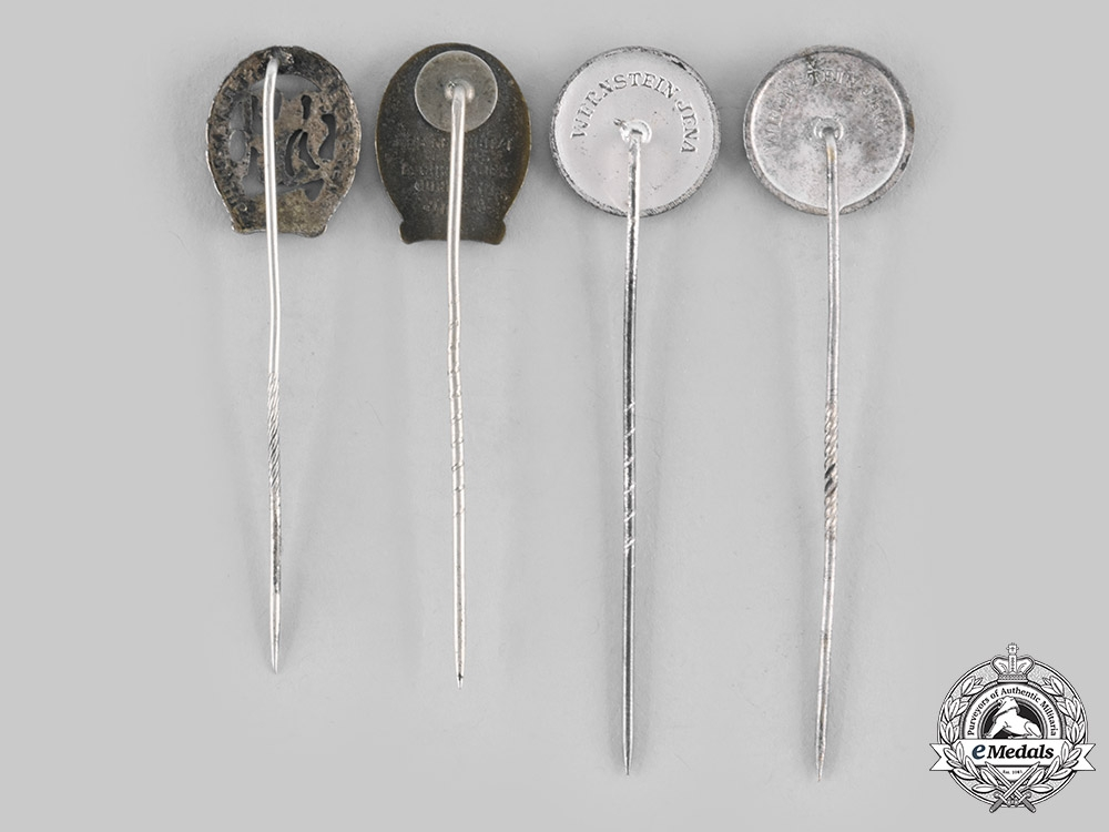 Germany, Third Reich. A Lot of Sports Badge Stick Pins