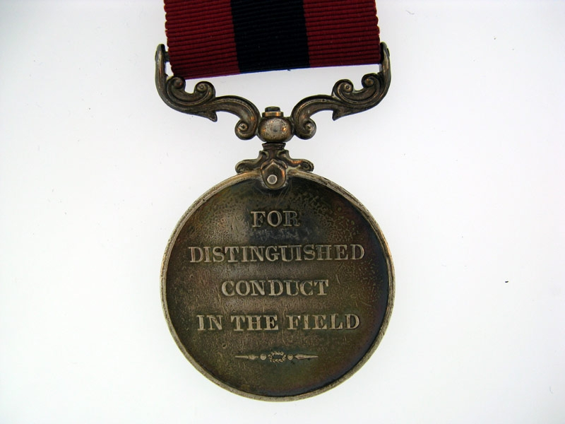 Distinguished Conduct Medal (George V.R.) awarded