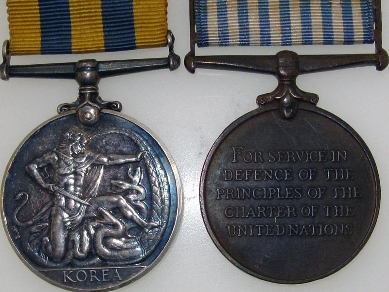 Korean War Pair