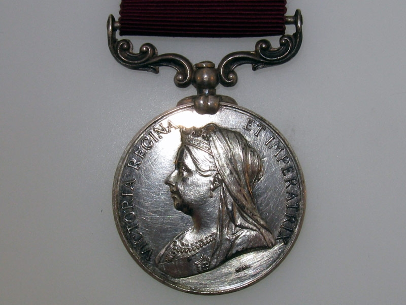 "Meritorious Service Medal, ""Canada"" Reverse"