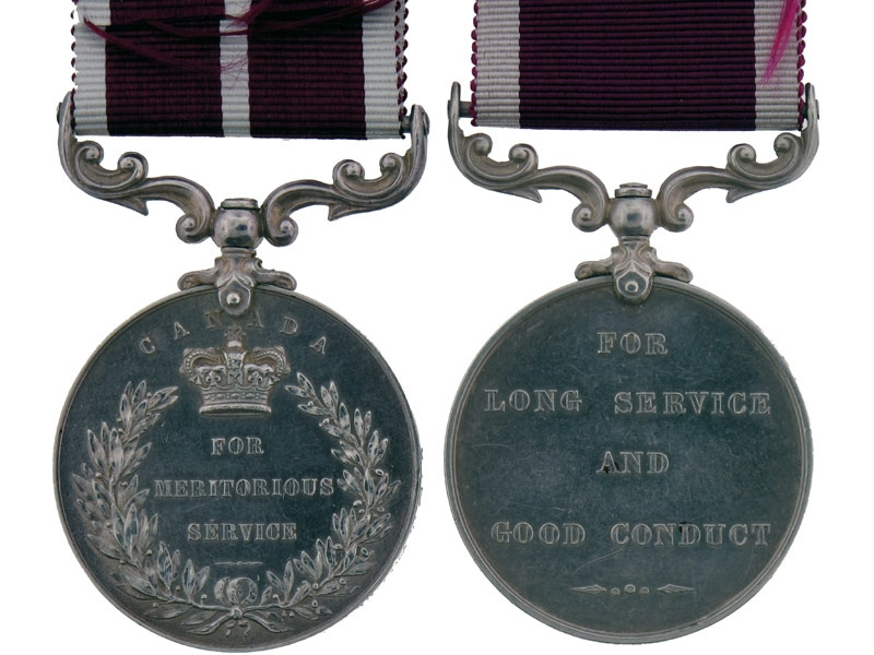 Rare Colonial Meritorious Service Group