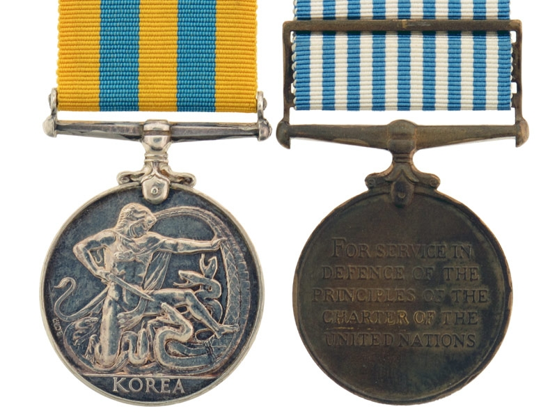 Canadian Korea Medal Pair