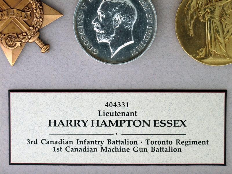 WWI Canadian Machine Gun Corps Group