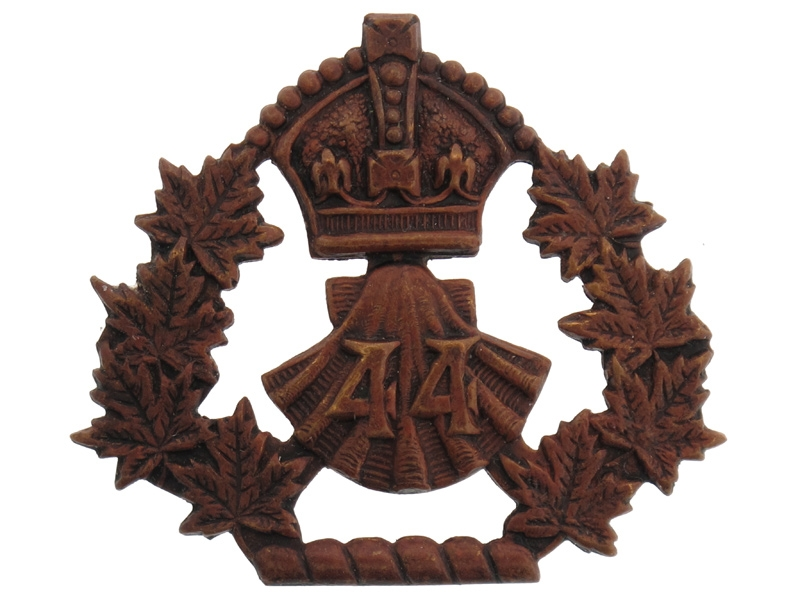 44th Lincoln and Welland Regiment Cap Badge,