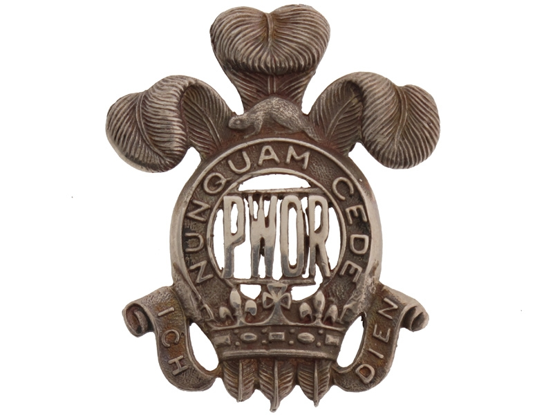 Prince of Wales' Own Regiment Officer's