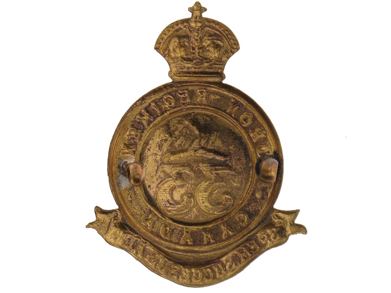 33rd Huron Regiment Cap Badge, c. 1904.