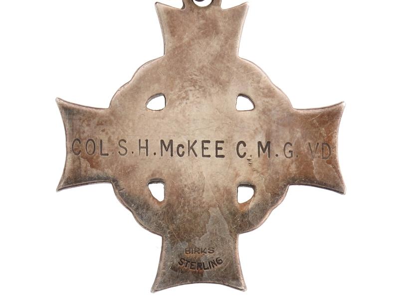 Officer's Canadian Memorial Cross – 1st Div,