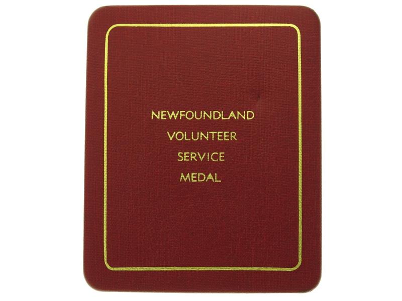 Newfoundland Volunteer War Service Medal
