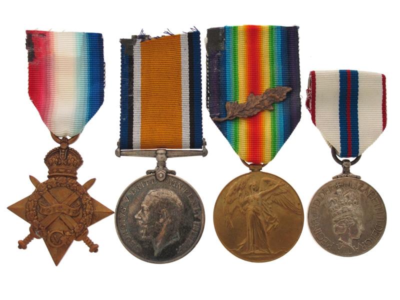 WWI Group - Lieutenant S. Graham