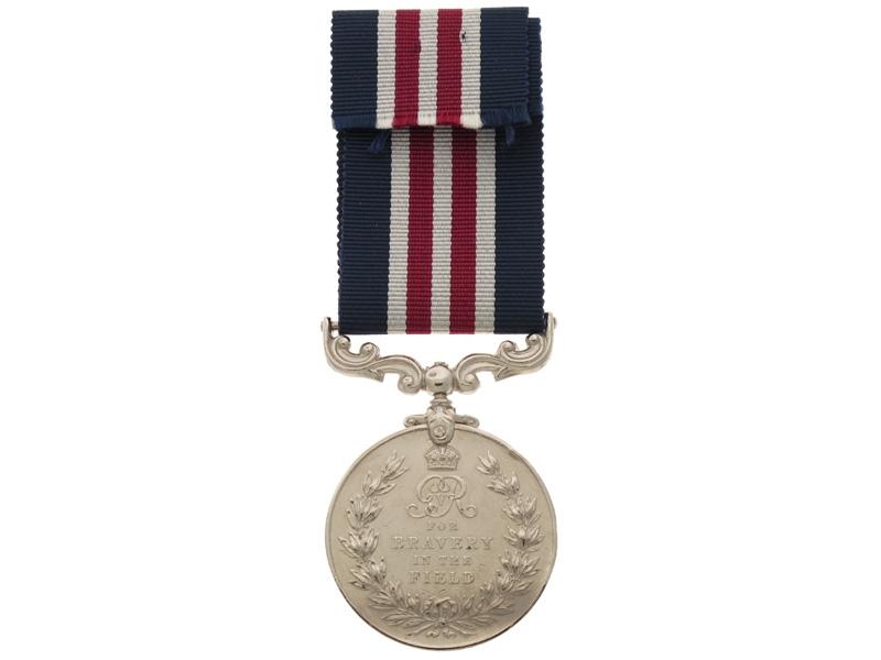 Military Medal - E.ONT Regiment