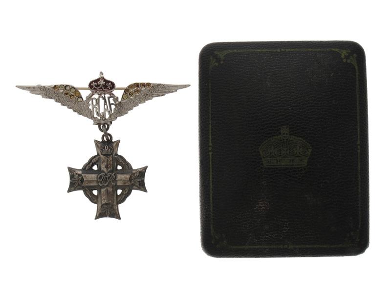 Memorial Cross -Lancaster Air Gunner