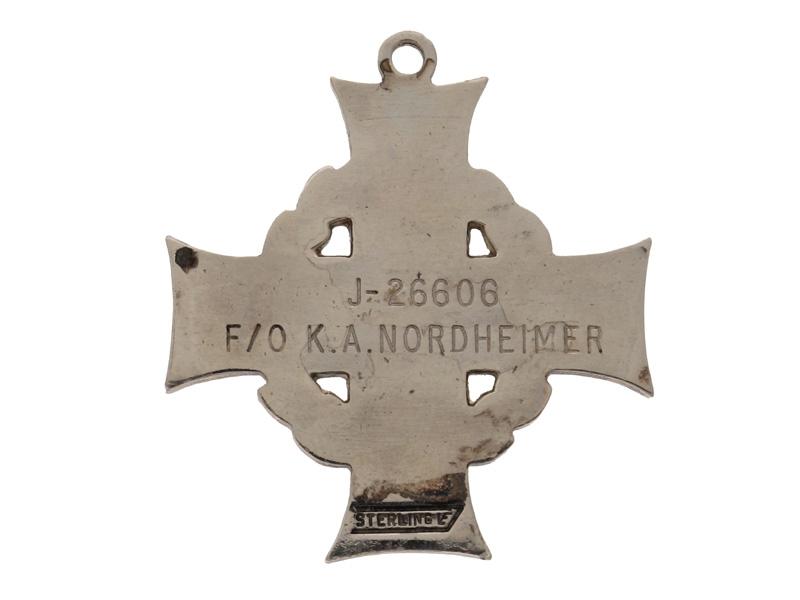 Memorial Cross - Flying Officier 405th Sqd