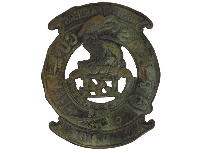 "WWI 134th Battalion ""48th Highlanders"" Badge"