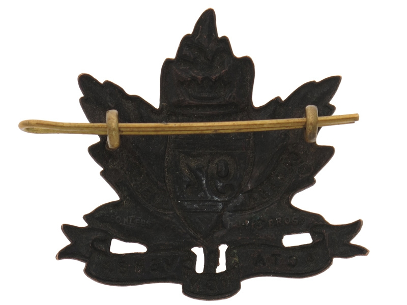 "WWI 97th Battalion ""Toronto Americans"" Cap Badge"