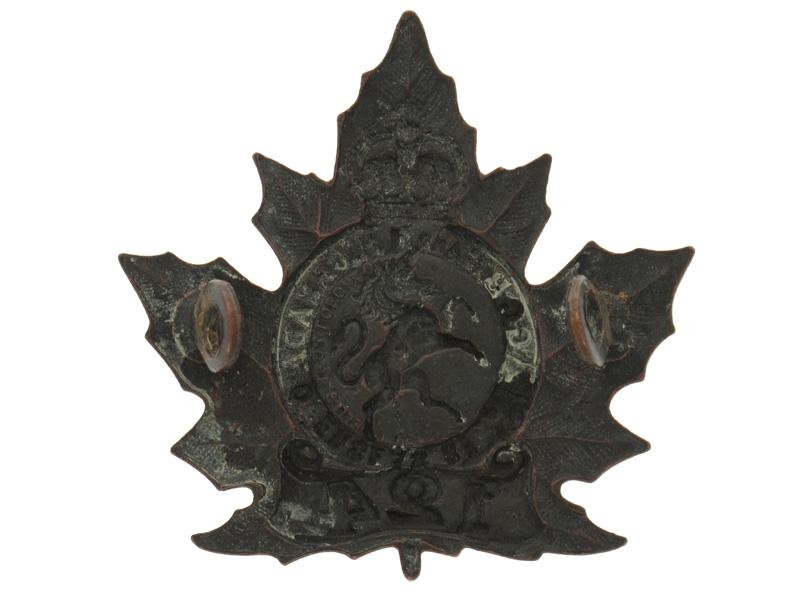 WWI 124th Infantry Battalion Cap Badge