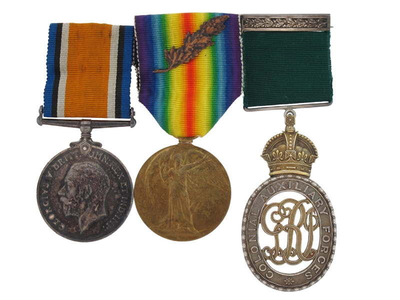 WWI CAF Group, Lieutenant-Colonel H.A. Rose, CEF