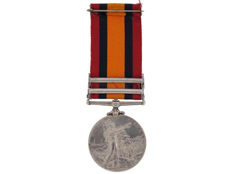 Queen's South Africa Medal- Cdn Mounted Rifles