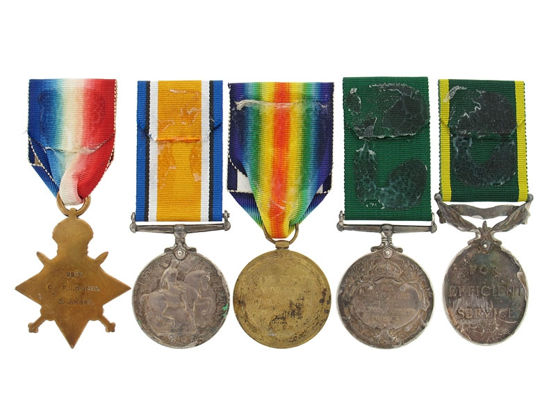 The Awards of Sgt.Haines - 3rd Canadian Infantry