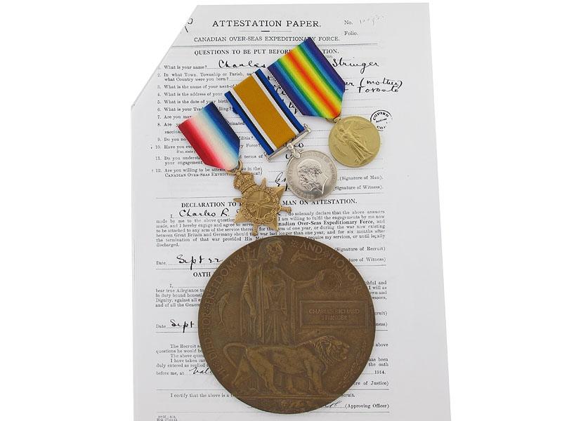 Missing at Ypres - Pte.Stringer, 3rd Can Infantry