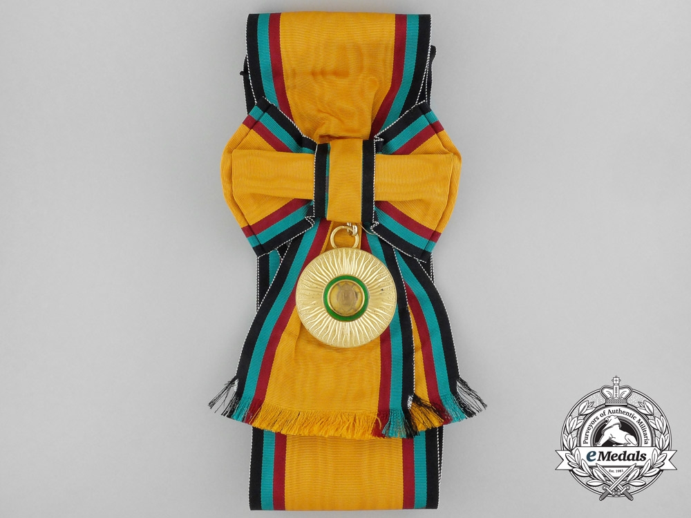 An Order of the Golden Heart of Kenya; Elder Second Class with Case by Spink