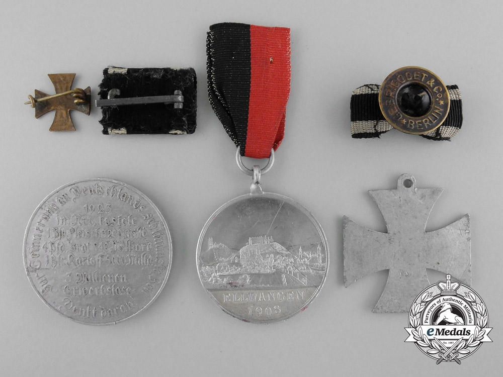 Six First War Period German Imperial Items