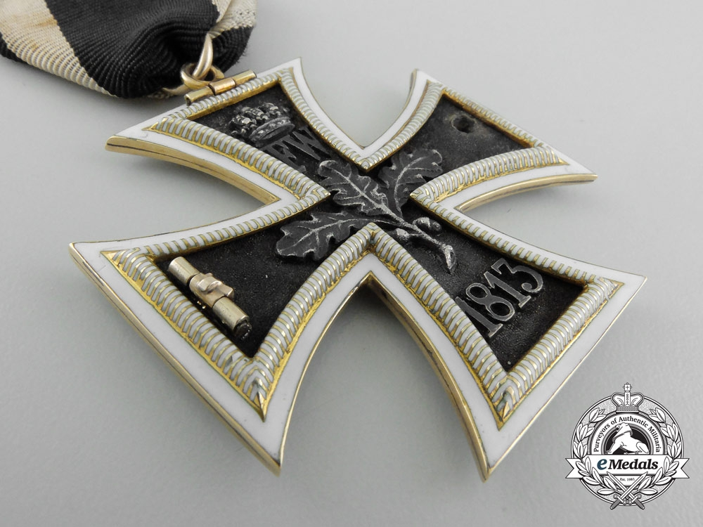 A Unique & Exquisite 1870 Iron Cross Second Class in Gold