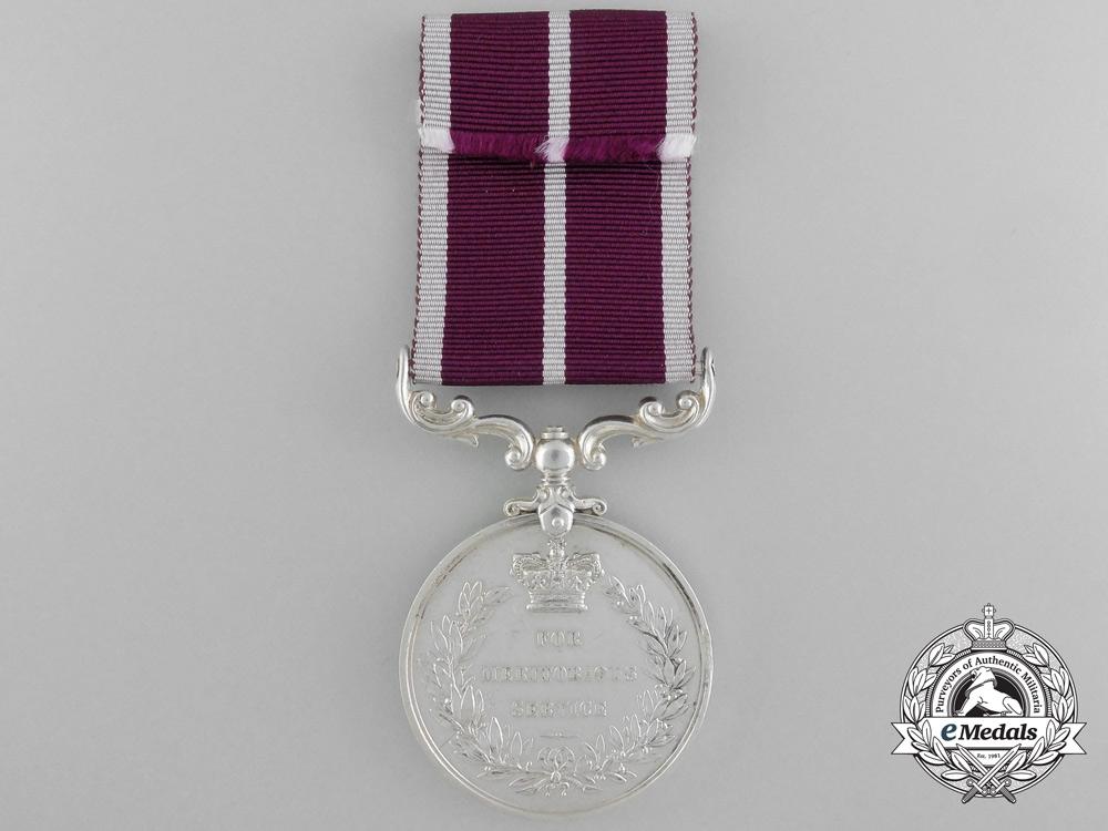 A Rare Indian Army Meritorious Service Medal