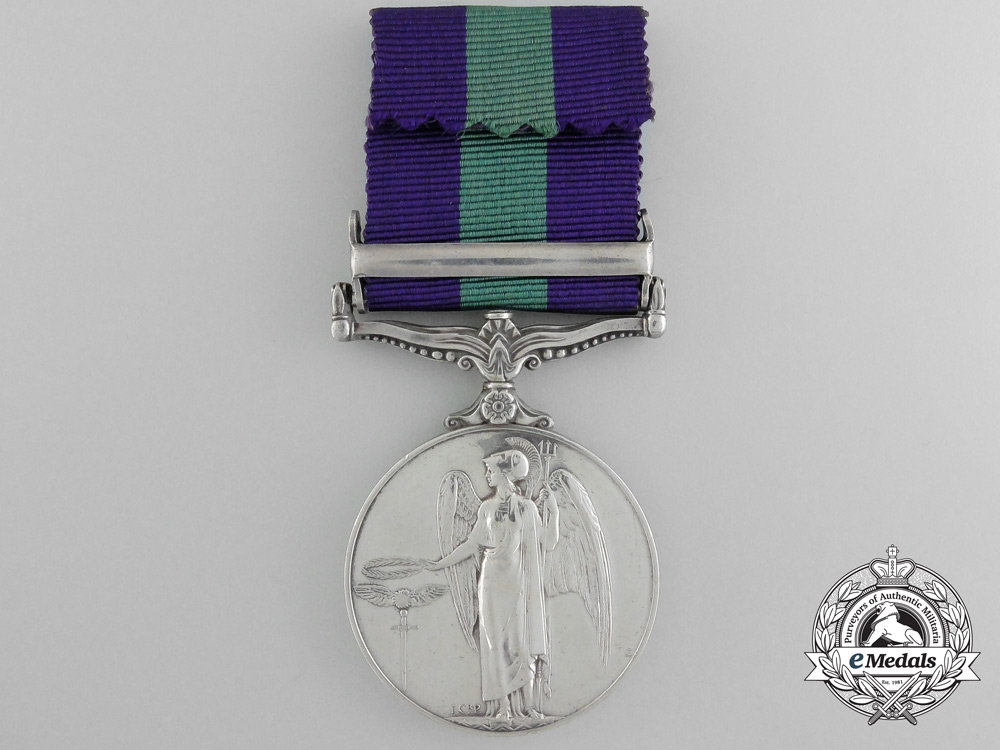 A 1918-1962 General Service Medal to the Royal Army Ordnance Corps