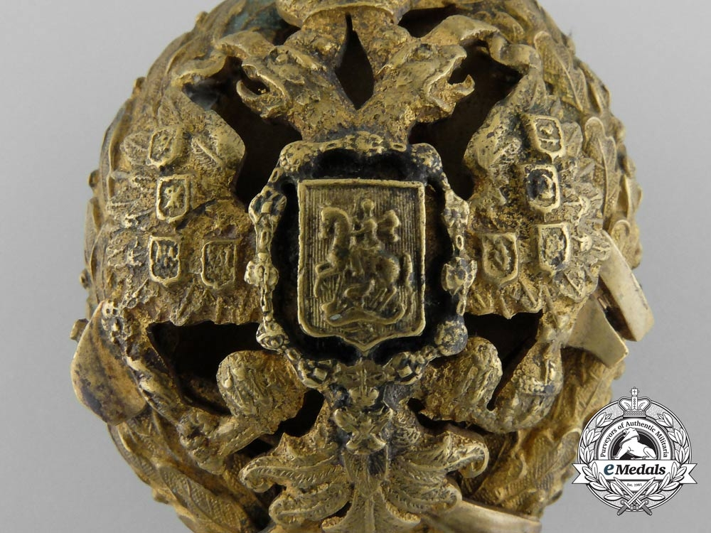 A Russian Imperial Badge of the Technical Institute of Peter the Great