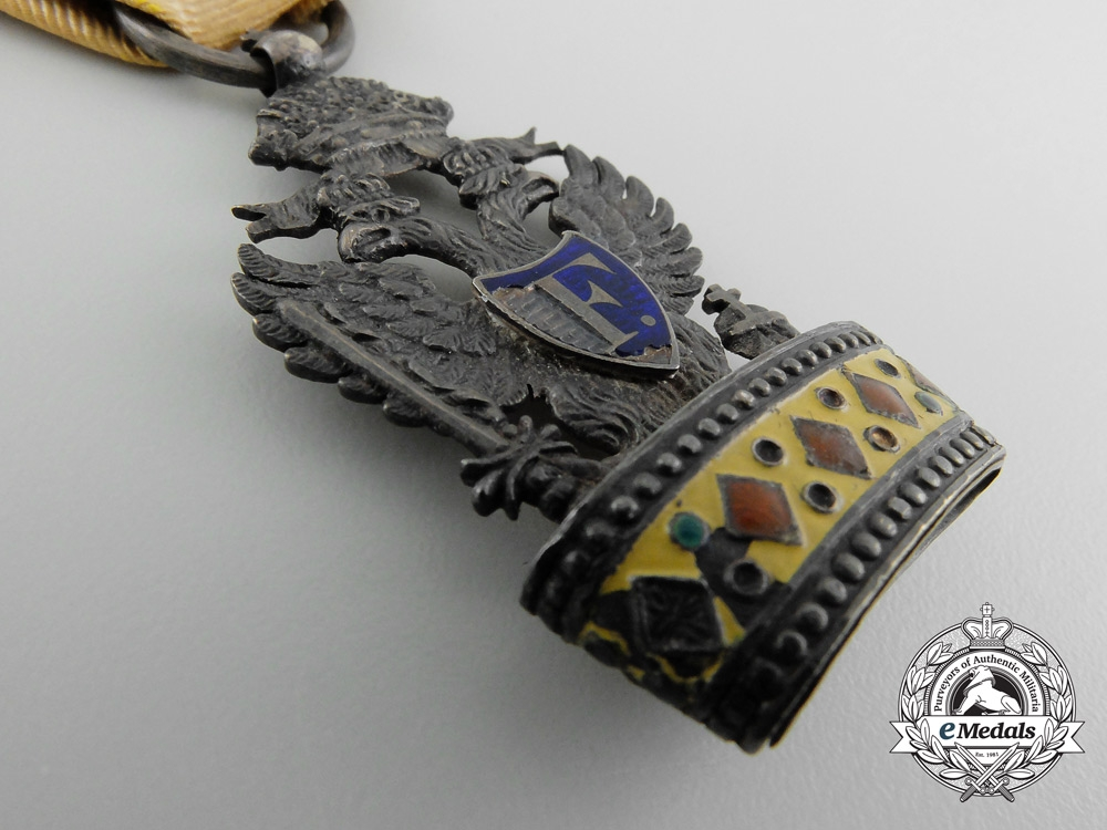 A First Type Austrian Empire Iron Crown Order; Third Class (1816-1820)