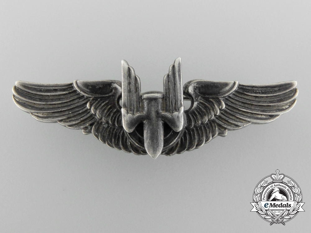 Immediate Credit Card >> A Pair of Second War United States Air Force Bombardier Wings - Wings - Badges - United States ...