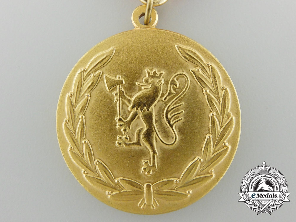 A Rare Norwegian Armed Forces Heroic Deeds Award