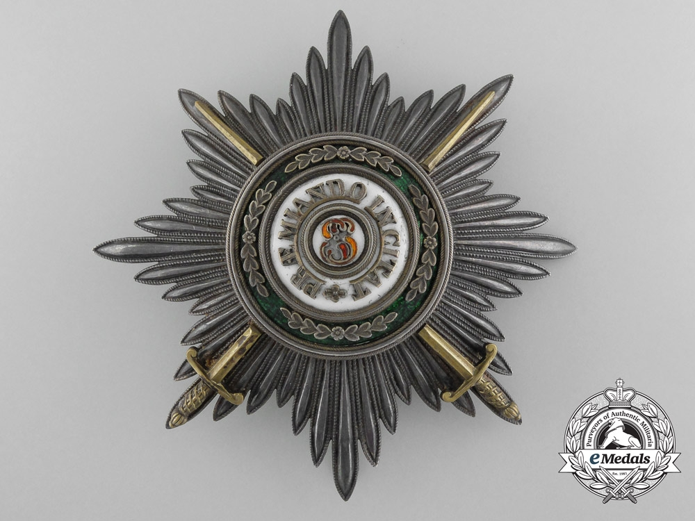 A Russian Imperial Order of St. Stanislaus Breast Star by Keibel; Military Division