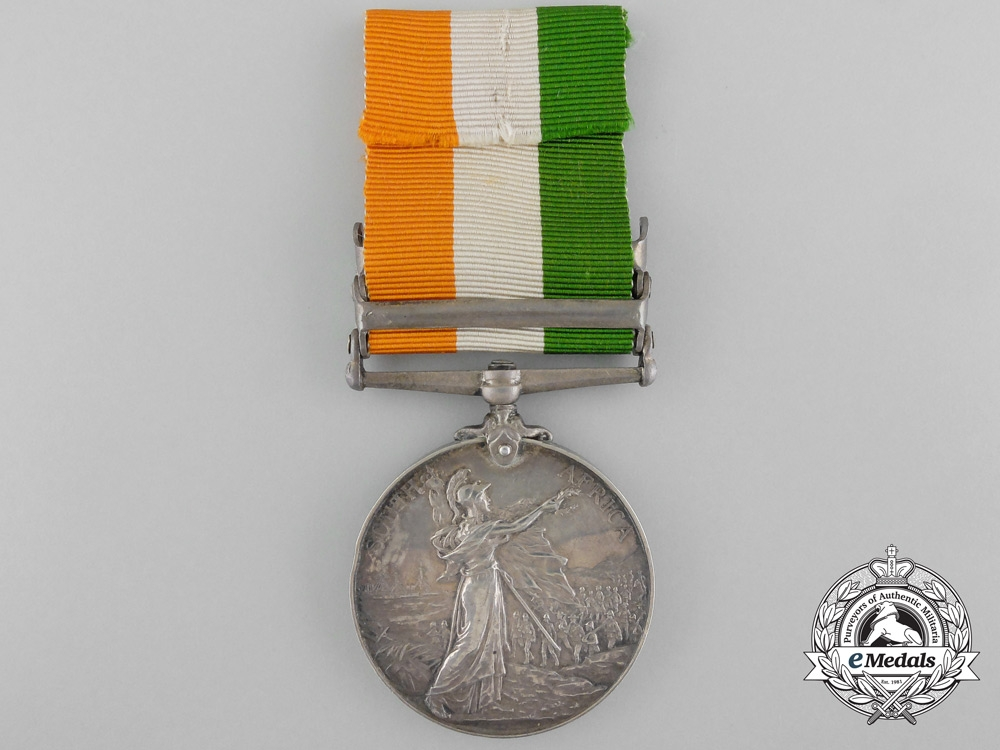 United Kingdom. A King's South Africa Medal, Scots Guards