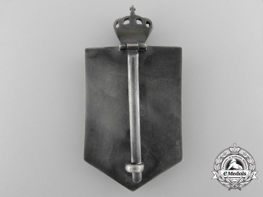 Romania, Kingdom. A 29th Infantry Dragos Regimental Badge, c.1942