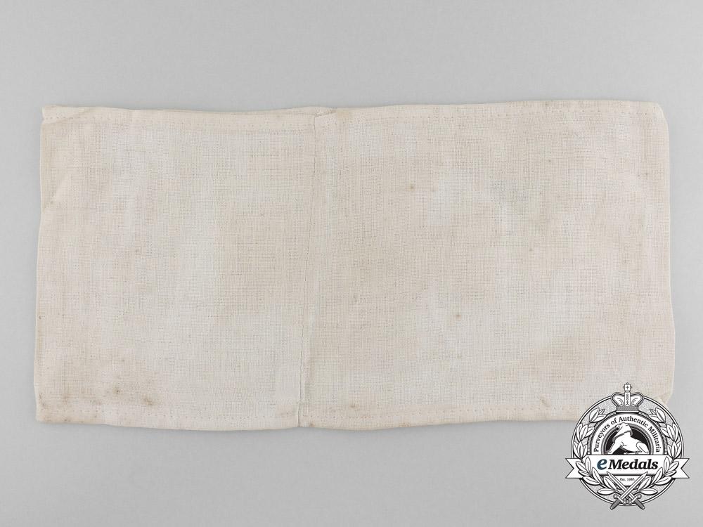 A Prussian First War Field Hospital Armband