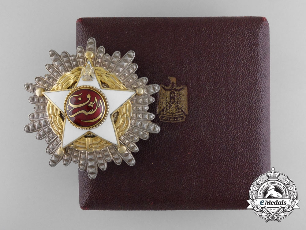 Egypt, Republic. An Order of the Star of Honor, I Class Star, c.1960