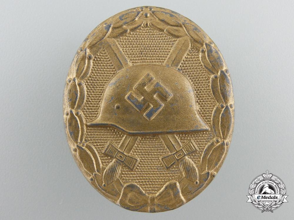 A Gold Grade Wound Badge